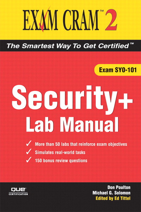 Security+ Exam Cram 2 Lab Manual