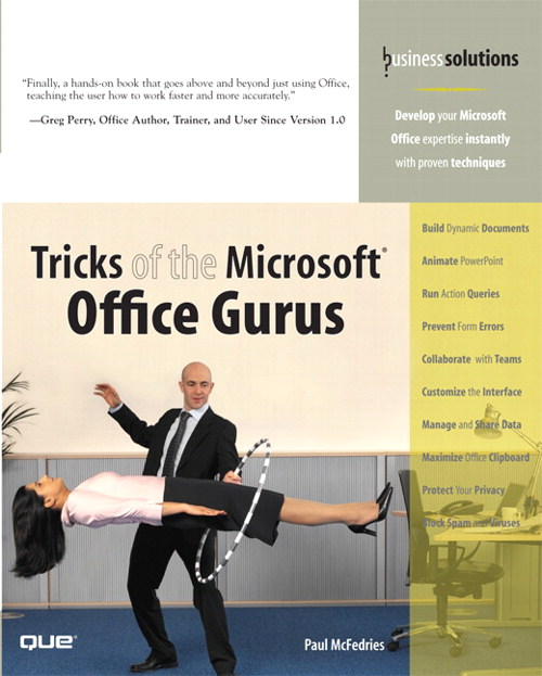 Tricks of the Microsoft Office Gurus