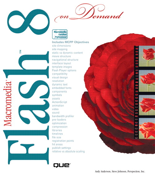 Macromedia Flash 8 On Demand