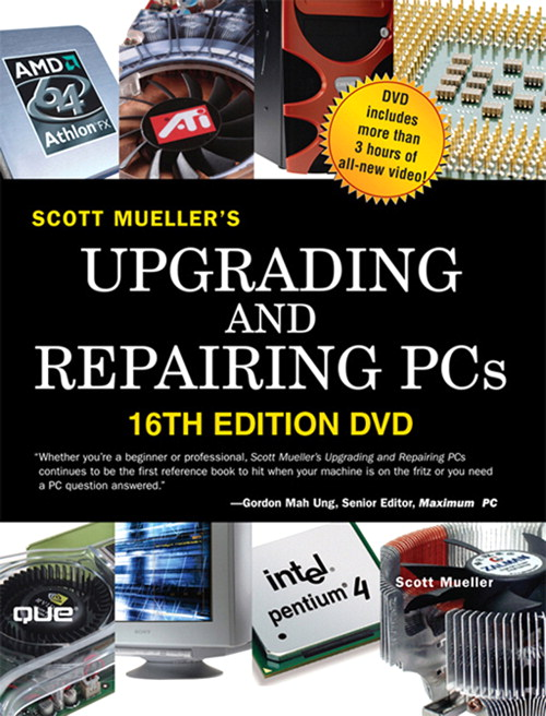 Upgrading and Repairing PCs DVD, 16th Edition
