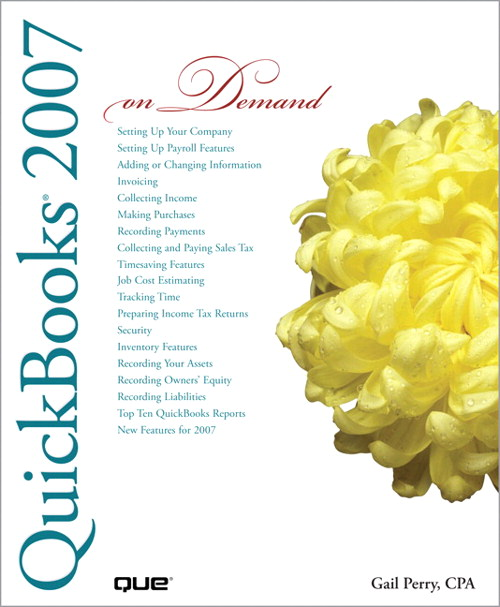 QuickBooks 2007 On Demand
