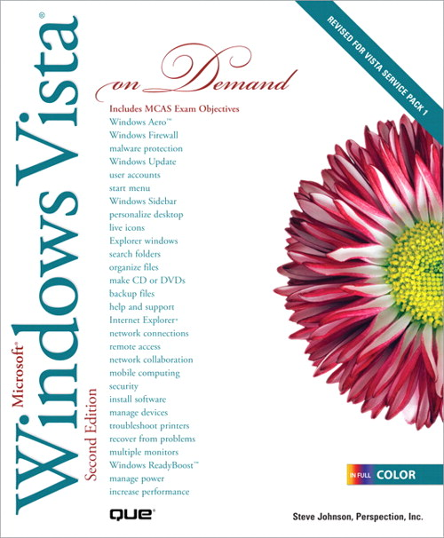 Microsoft Windows Vista On Demand, 2nd Edition