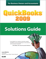 QuickBooks 2009 Solutions Guide for Business Owners and Accountants