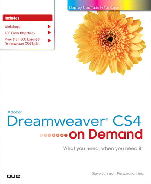 Adobe Dreamweaver CS4 on Demand