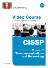CISSP Video Course Domain 7 - Telecommunications and Networking, Downloadable Version