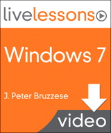 Windows 7 LiveLessons (Video Training), (Downloadable Video)