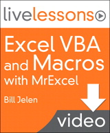 Excel VBA and Macros with MrExcel LiveLessons (Video Training), (Downloadable Video)