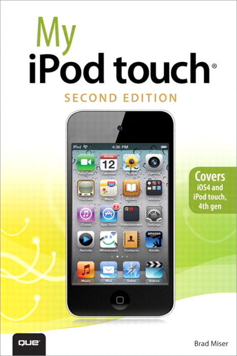 My iPod touch, 2nd Edition