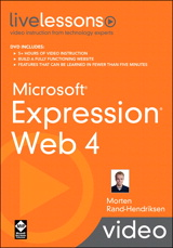 Microsoft Expression Web 4 LiveLessons (Video Training)