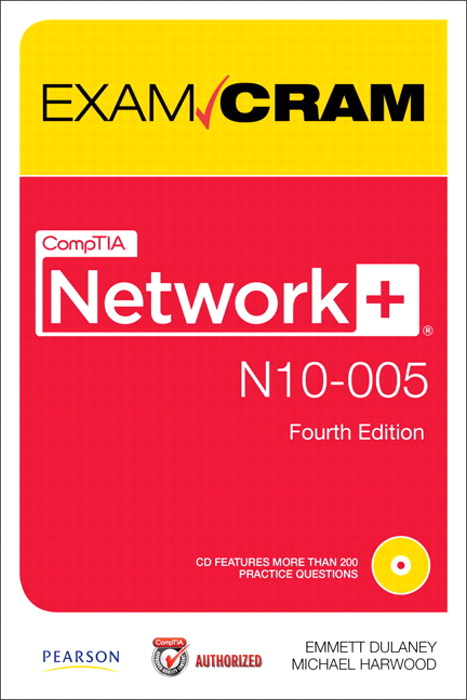 CompTIA Network+ N10-005 Exam Cram, 4th Edition