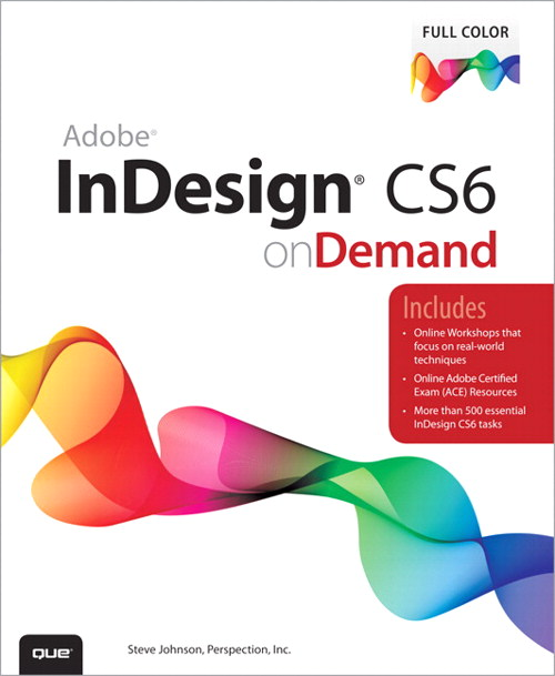 Adobe InDesign CS6 on Demand