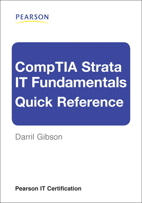 CompTIA Strata IT Fundamentals Quick Reference