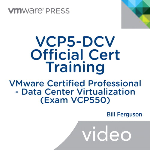 VCP5-DCV Official Cert Training