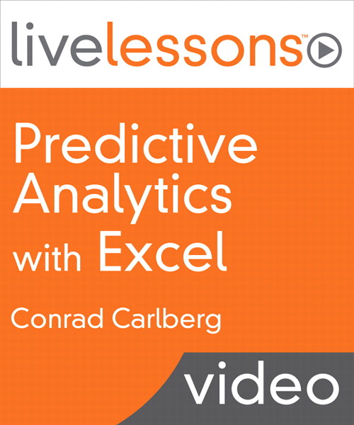 Predictive Analytics with Excel LiveLessons