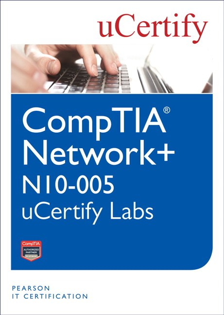 CompTIA Network+ N10-005 uCertify Labs Student Access Card