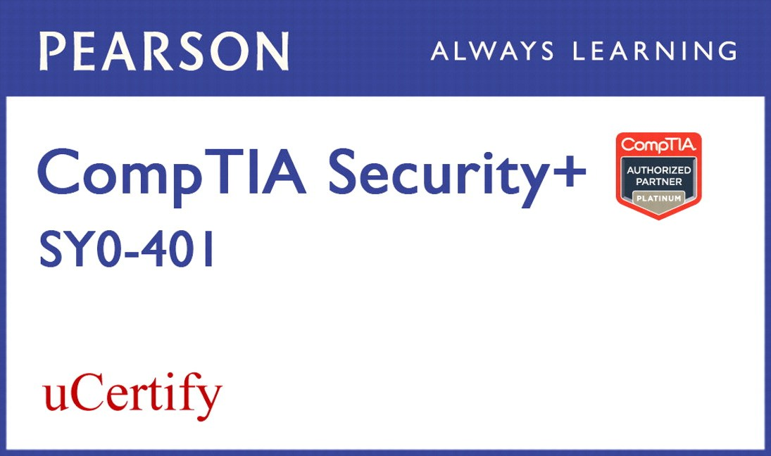 CompTIA Security+ SY0-401 uCertify Labs Student Access Card