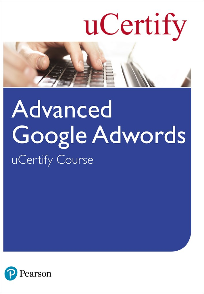 Advanced Google Adwords uCertify Course Student Access Card