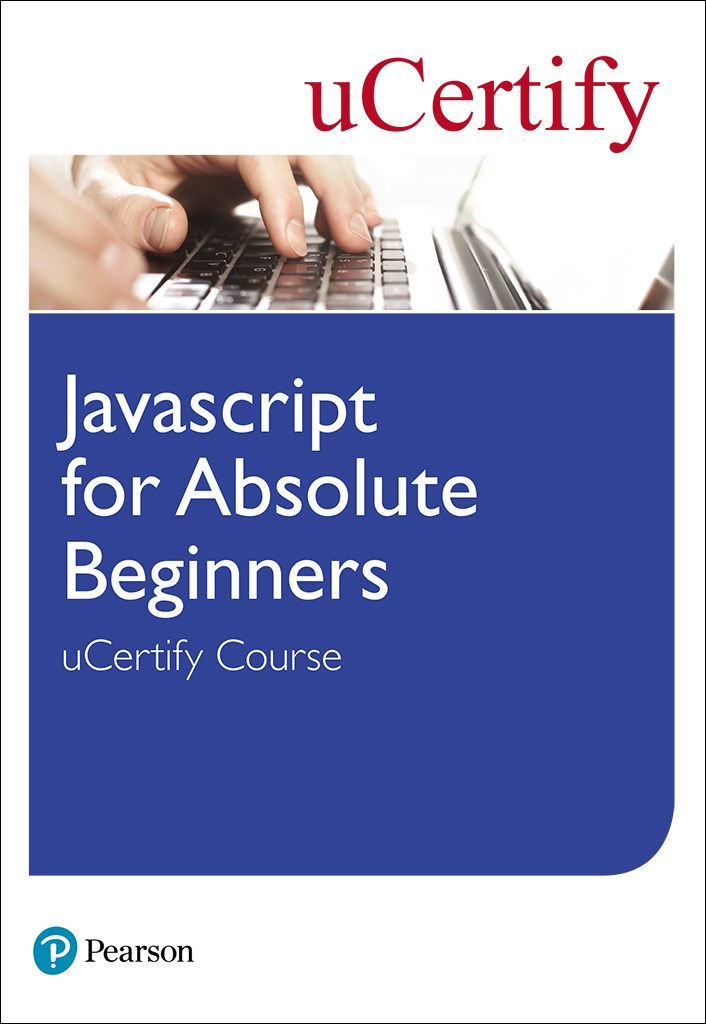 Javascript for Absolute Beginners uCertify Course Student Access Card