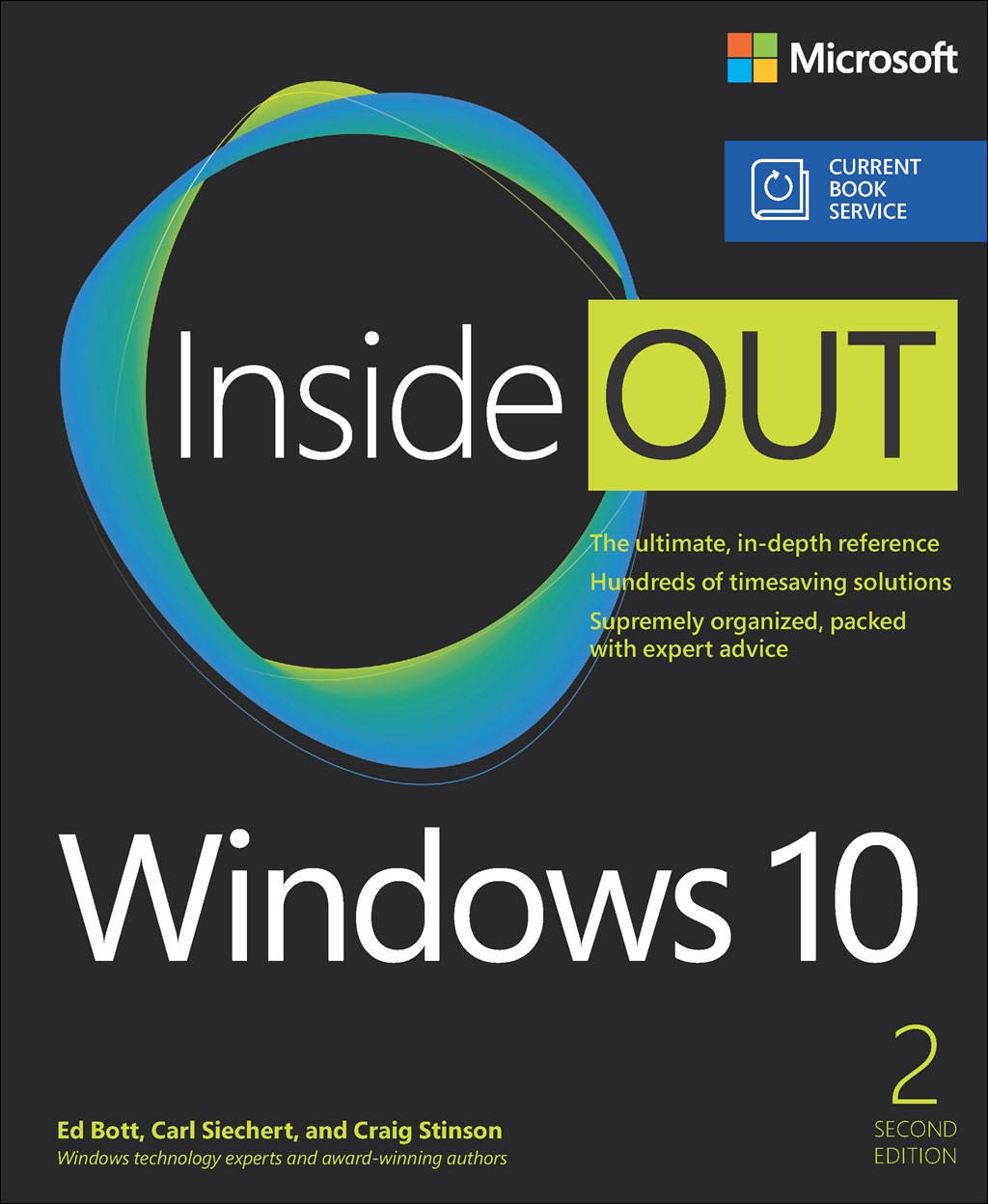 Windows 10 Inside Out (Web Edition includes Current Book Service), 2nd Edition