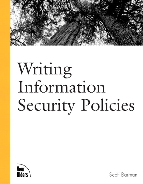 Writing Information Security Policies