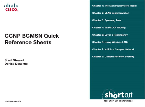 CCNP BCMSN Quick Reference Sheets: Exam 642-812 (Digital Short Cut)