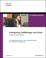 Configuring CallManager and Unity: A Step-by-Step Guide