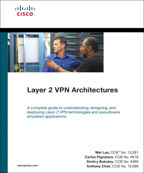 Layer 2 VPN Architectures (paperback)