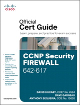 CCNP Security Firewall 642-617 Official Cert Guide