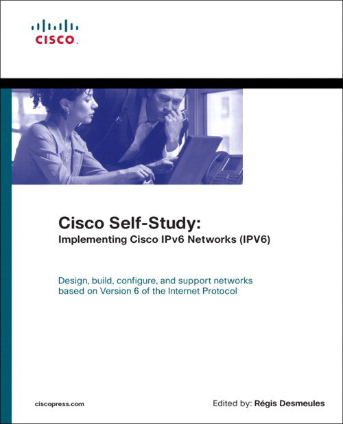 Cisco Self-Study: Implementing Cisco IPv6 Networks (IPV6) (paperback)