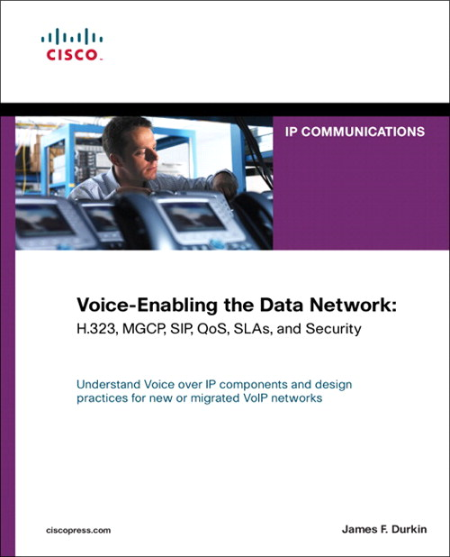 Voice-Enabling the Data Network: H.323, MGCP, SIP, QoS, SLAs, and Security (paperback)