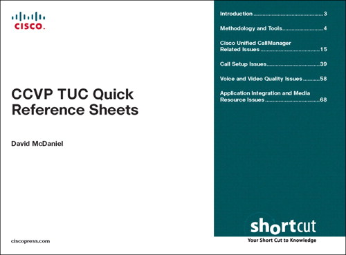 CCVP TUC Quick Reference