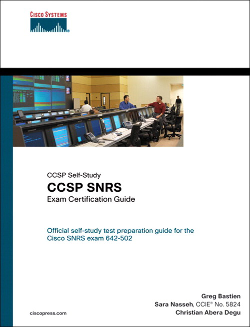 CCSP SNRS Exam Certification Guide