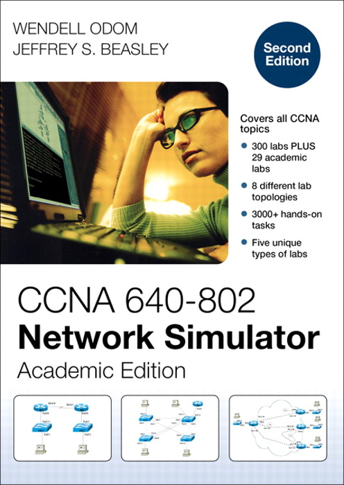 CCNA 640-802 Network Simulator, Academic Edition, 2nd Edition