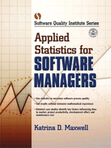 Applied Statistics for Software Managers